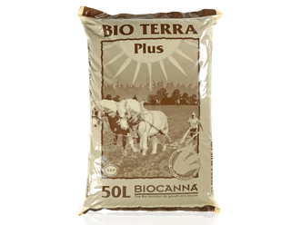 Canna BioCanna Soil-Less Mix Potting 'Soil' Bio Terra Plus 50L Bag