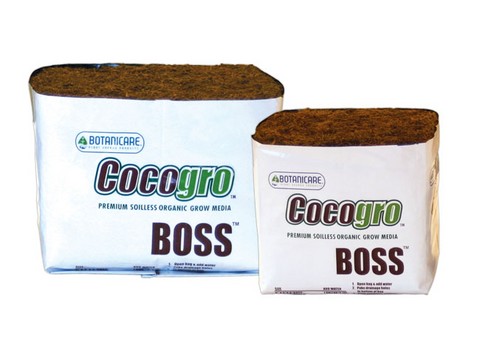 "Botanicare Growing Medium - Coco Compressed Boss Cube In GrowBag CocoGro 6"" 1081"