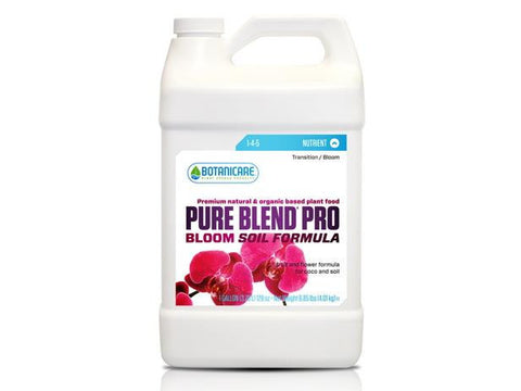 Botanicare Nutrient / Additive - Pure Blend Pro Soil Bloom  4L