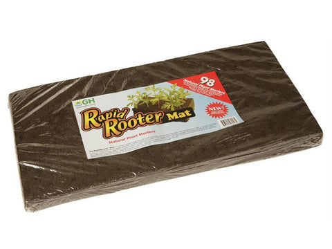 Rapid Rooter by General Hydroponics Rooting Plugs Mat of 98 Cubes / Plugs