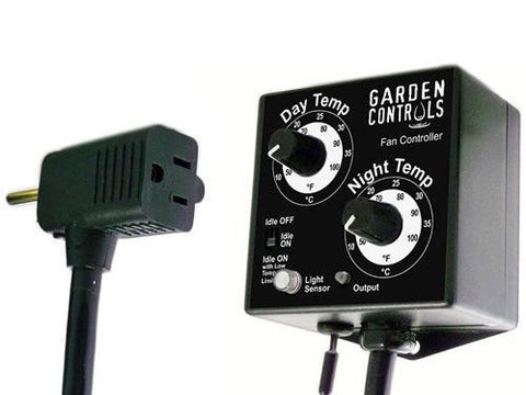 Garden Controls Day-Night Thermostatic (Temperature) Fan Speed Control With Idle