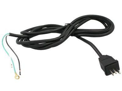 Light Energy Lamp Cord / Cable - Ballast Plug to Bare Wires - 300V 14AWG 15' Length