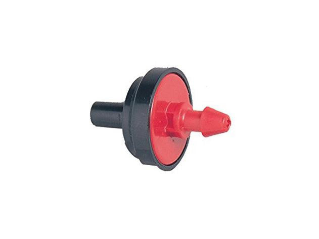 NoName Hydroponic Drip Emitter 1/2GPH Red