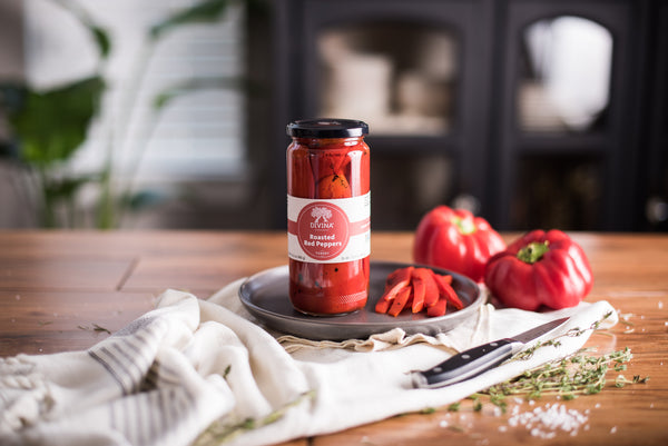 Divina Roasted Red Peppers