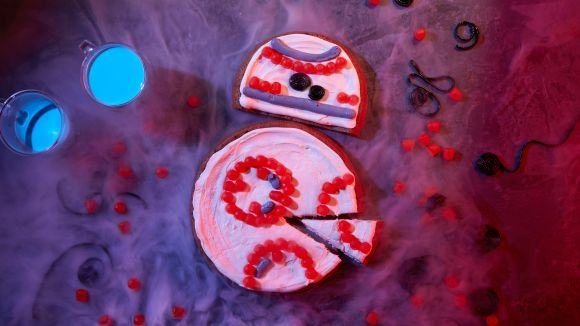 BB8 Cookie Cake