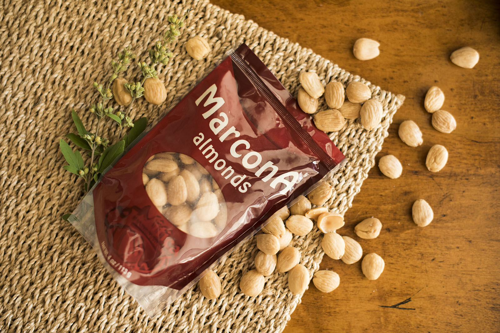 "<b>Marcona Almonds</b><br> Known as the ""Queen of Almonds"", the Marcona is the most precious in Spain and is indigenous to the country. It is sweet and softer than most almonds."
