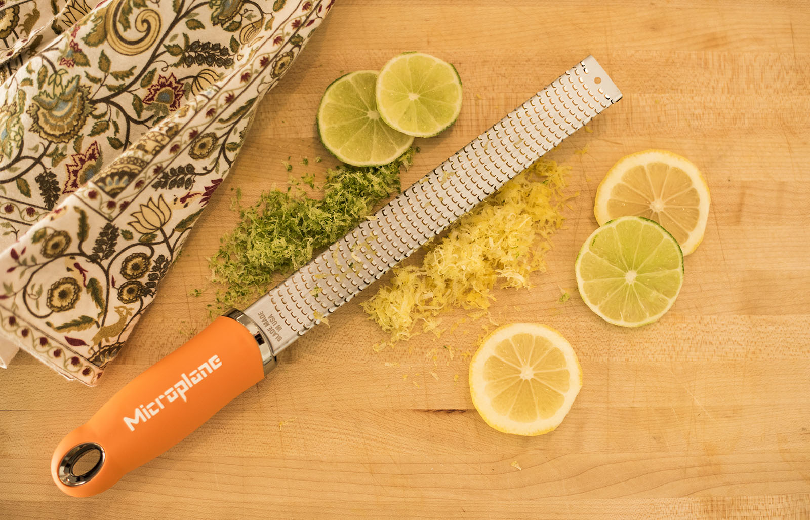 <a href='http://us.microplane.com/microplaneclassicseriespremiumzestergrater.aspx' target='_blank'><b>Premium Microplane</b></a><br>This new version with a premium soft-touch handle and nonscratch