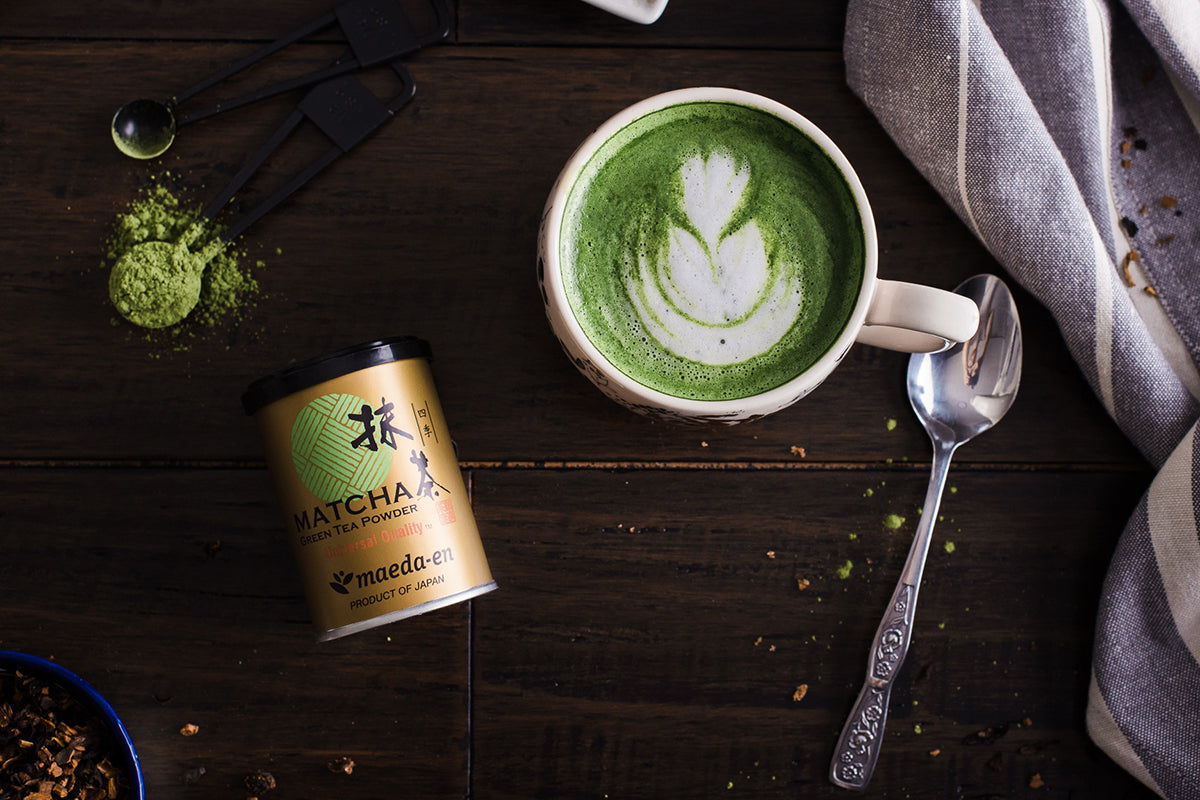 <a target='_blank' href='https://amzn.to/2EjE7af'>Maeda-en Shiki Green Matcha 1 oz. Maeda-en has the purist form of Matcha for both drinking and cooking. </a>