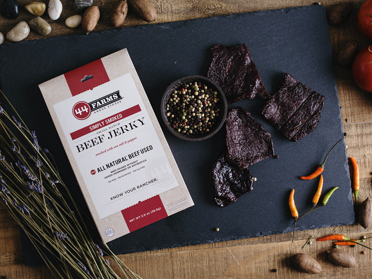 <a href='https://www.44steaks.com/shop/category/BeefJerky' target='_blank'> <b>44Farms Beef Jerky</b><br>