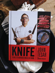 Chef John Tesar Knife Cookbook