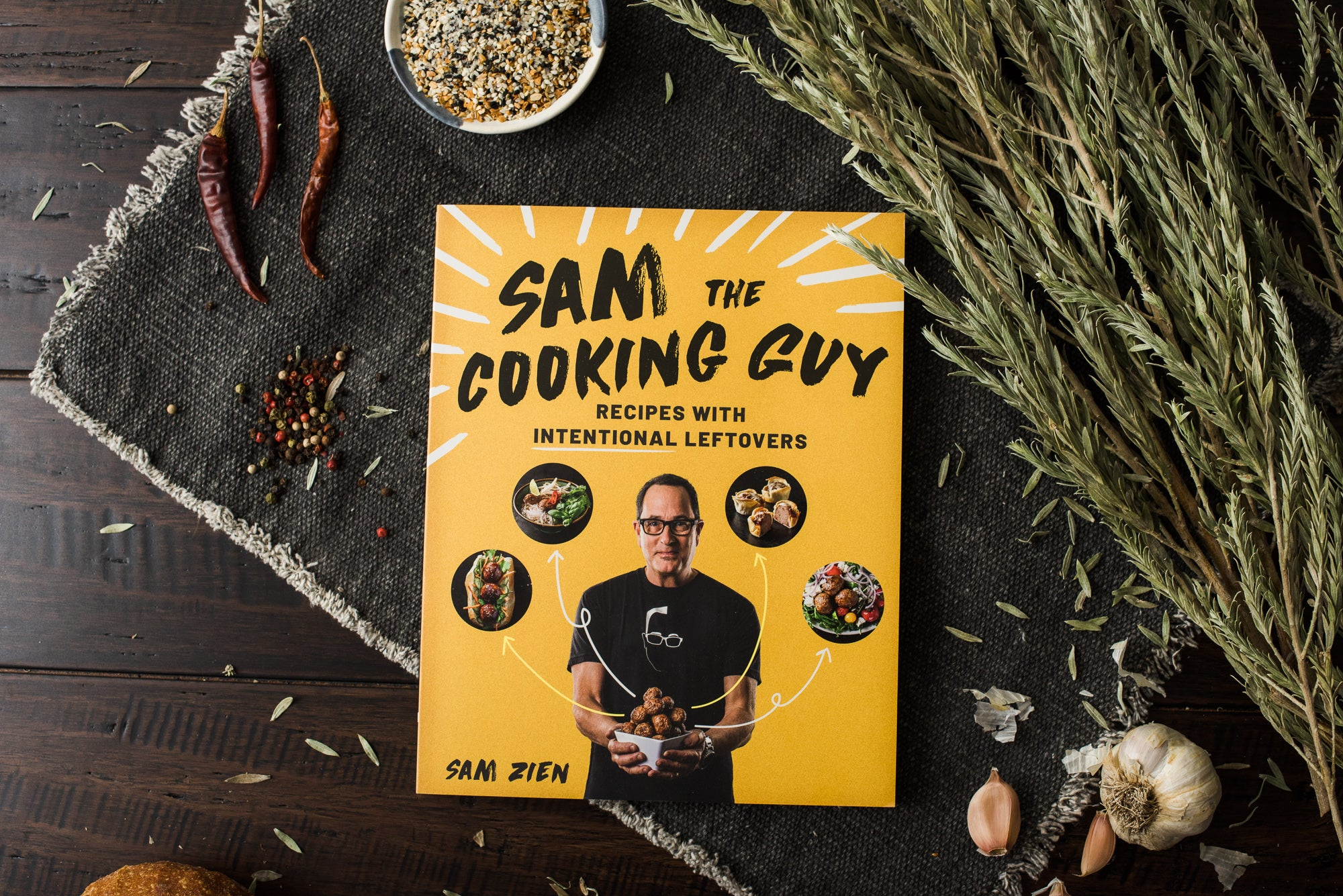 <a target='_blank' href='https://amzn.to/34ZN59D'>Sam The Cooking Guy: Recipes with Intentional Leftovers</a>
