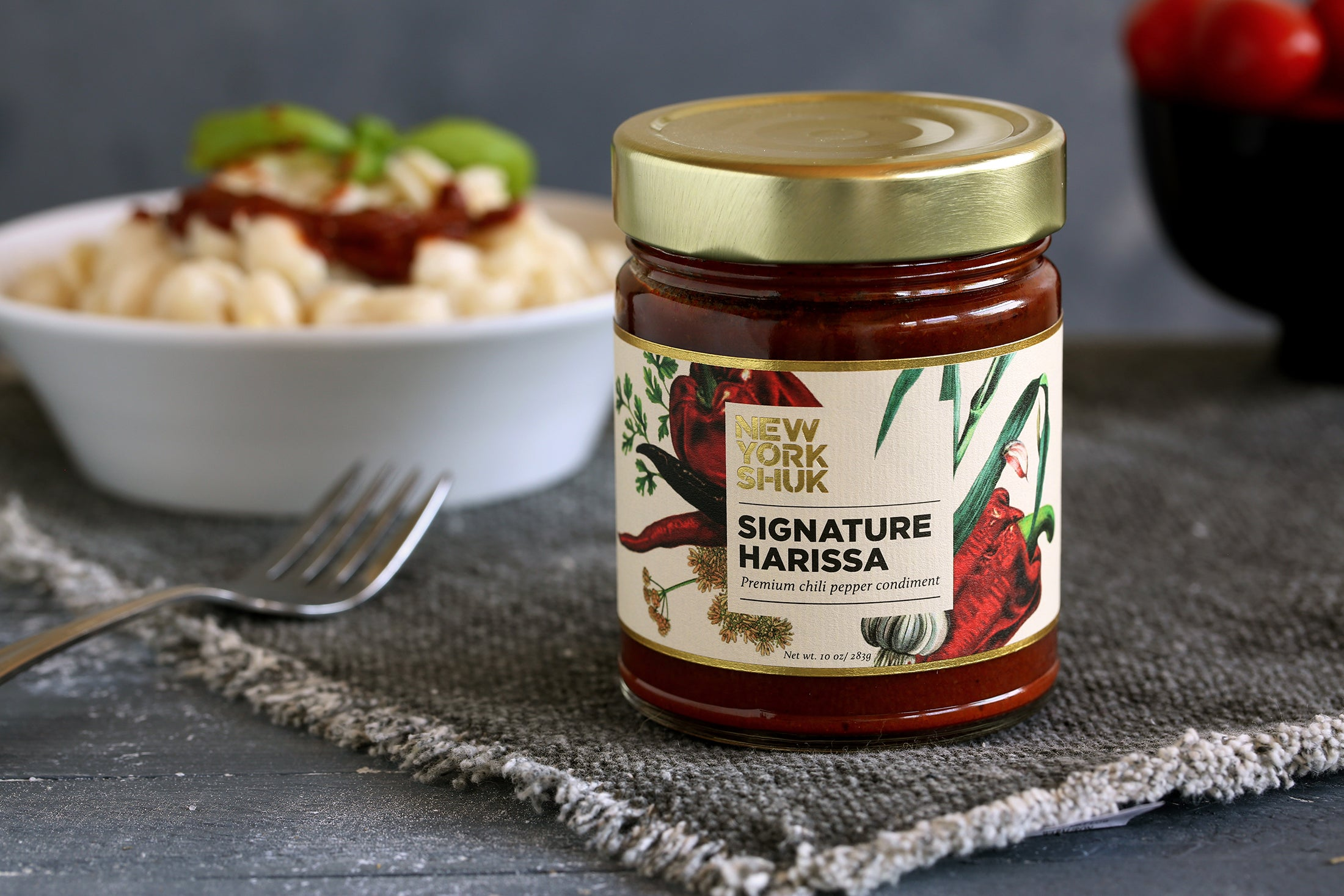 <a target='_blank' href='https://www.nyshuk.com/harissa101/'>New York Shuk's <b>Signature Harissa</b></a>