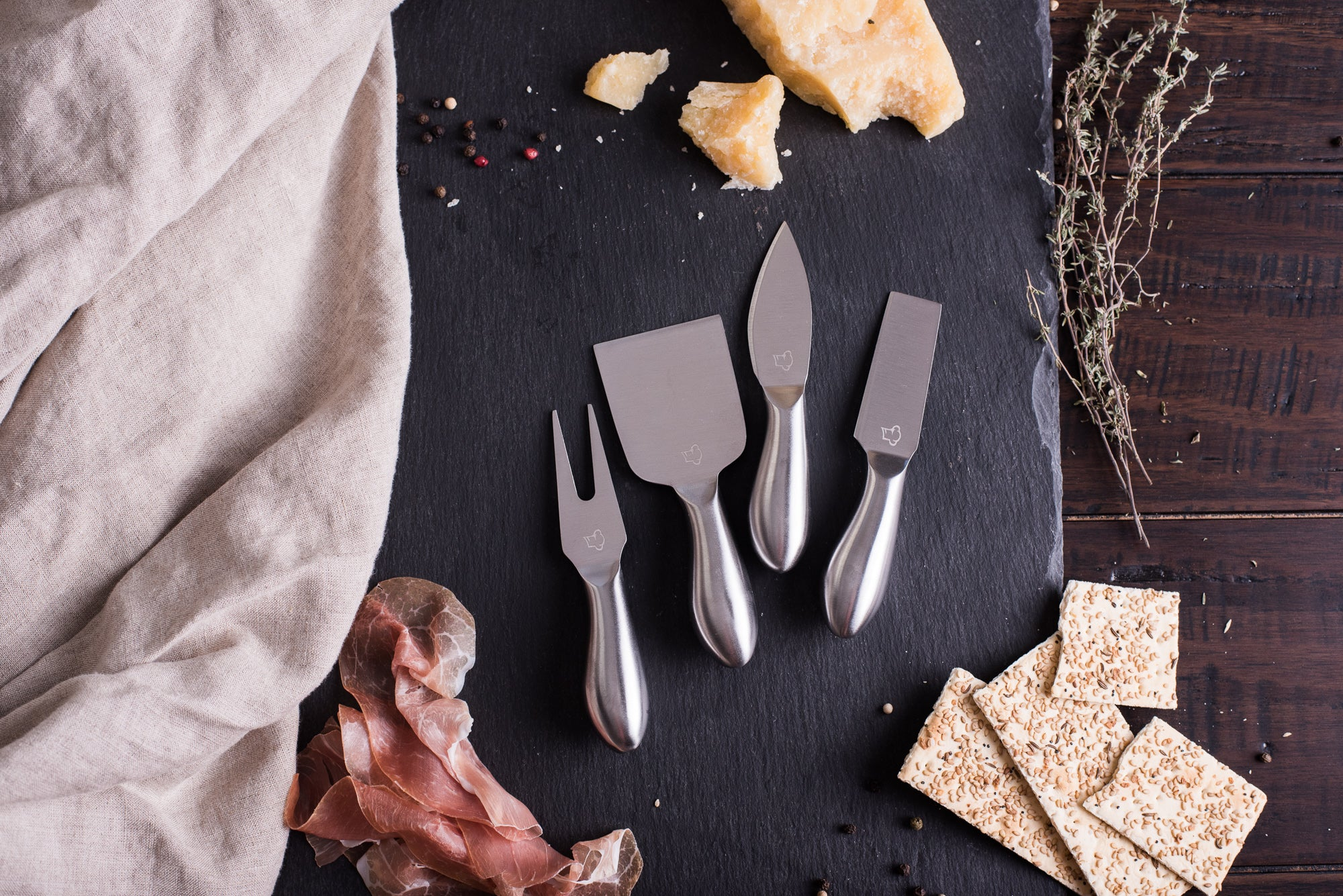 <a target='_blank' href='https://amzn.to/35Z0GwT'>Stainless Steel Cheese Knives - Set of 4</a>