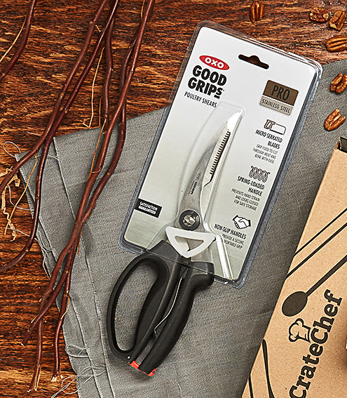 <a target='_blank' href='https://amzn.to/2DcgeSQ'><b>OXO Good Grip</b> Poultry Shears</a>