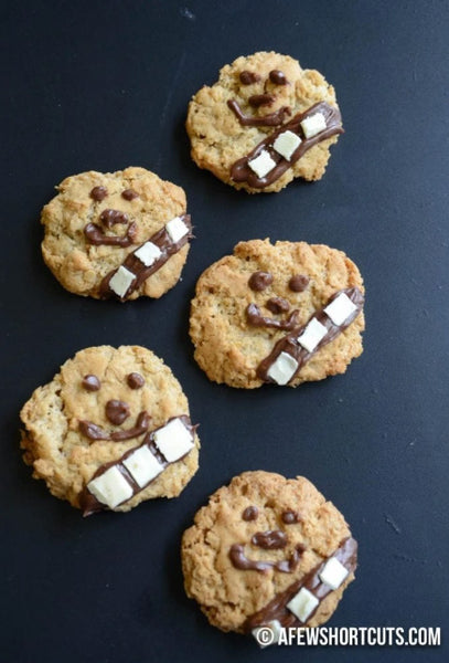 Star Wars Wookie Cookies by A Few Shortcuts