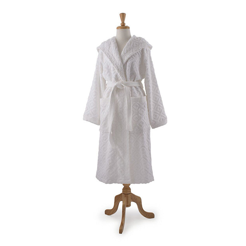 8f5467a3a2 Bathrobe in White (Evolved Collection) - Designer In A Box - 1 ...