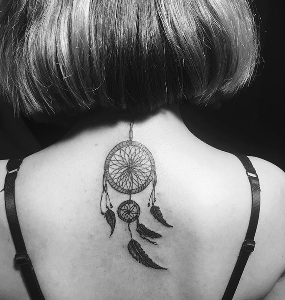 15 Beautiful Dreamcatcher Tattoos