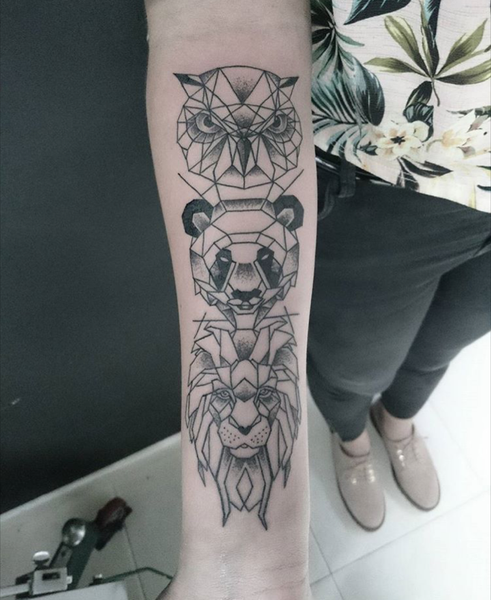 15 Geometric Tattoos