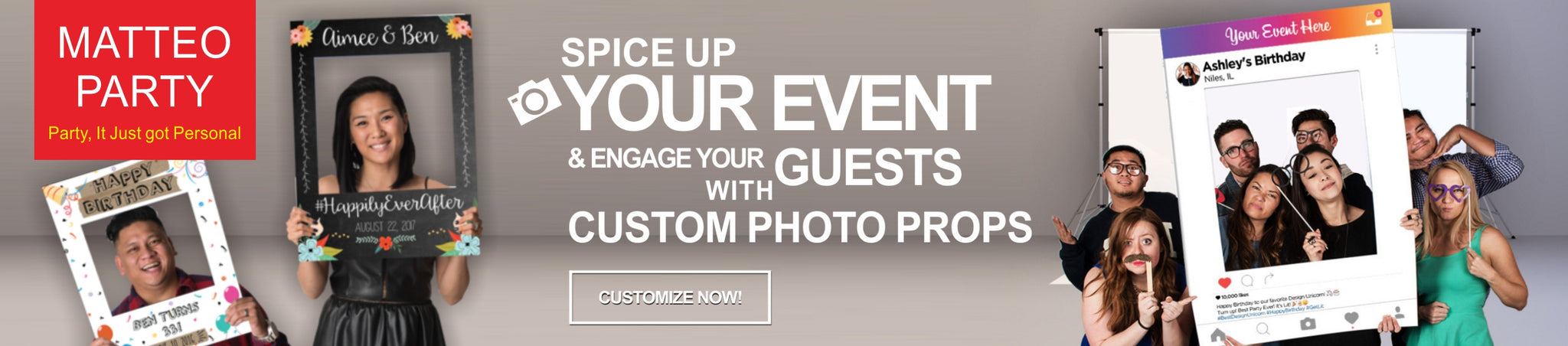 Photo Booth Frames – MATTEO PARTY