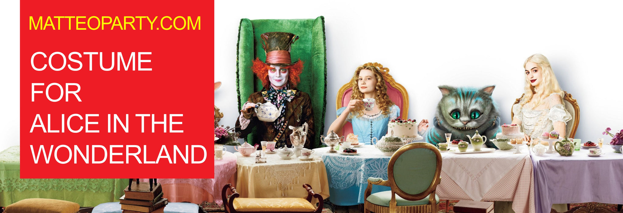 8549fb610 Alice in Wonderland Costumes - Matteo Party Hong Kong – MATTEO PARTY