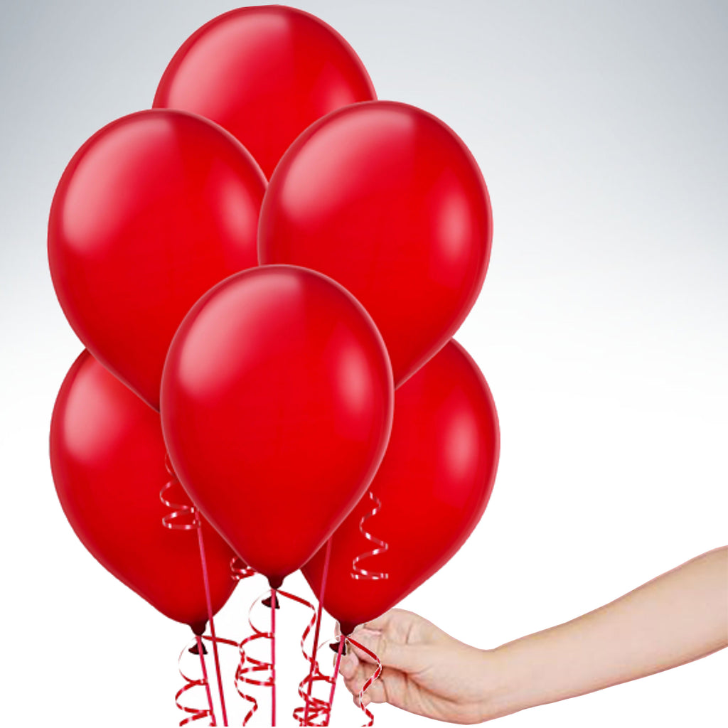 "11"" Latex Balloon - Standard Red"