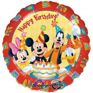 Mickey & Friends Happy Birthday