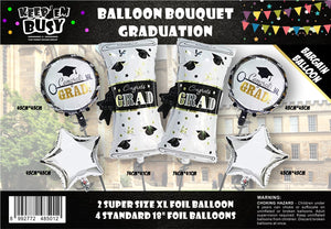 Graduation Balloons (Pack of 6)