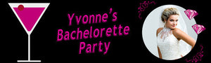 Pink Bachelorette Party Banner