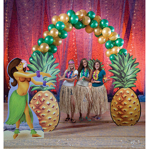 Pineapple Balloon Arch