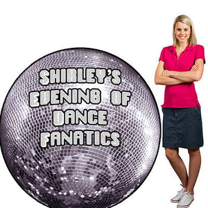 Personalized Disco Ball Standee