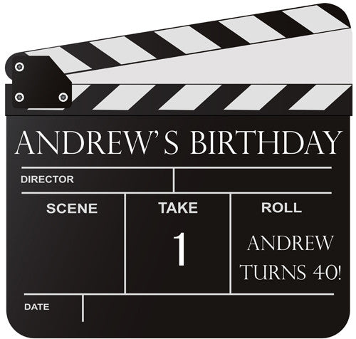 Film Clapperboard Standee