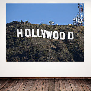 Hollywood Sign Scene Setter