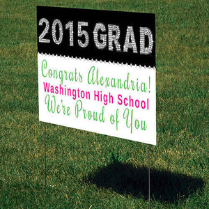 Blingy Class of 2015 Sign