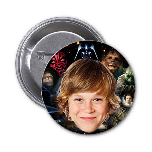 Personalized Star Wars Badges