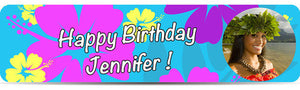Luau Birthday Banner