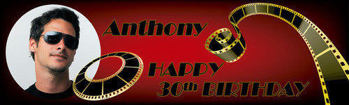 Filmstrip Birthday Banner