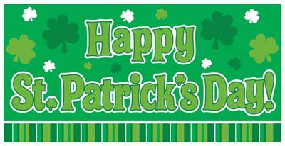 St. Patrick Day Banner