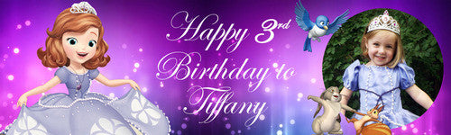 Sofia Happy Birthday Banner