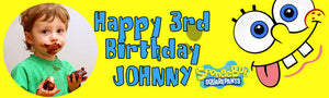 Spongebob Birthday Banner