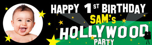 Hollywood Hill Party Banner