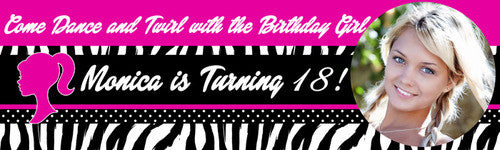 My Happy 18th Birthday Banner