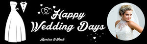 Happy Wedding Days Banner