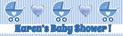 Happy Baby Shower Banner