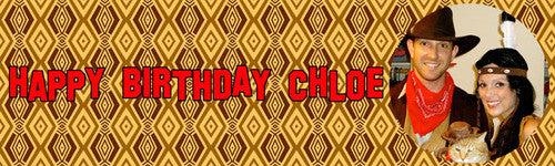 I'm Indian Birthday Banner