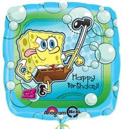 Spongebob Happy Birthday Balloon