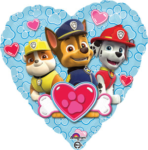 "34301-18"" Paw Patrol Love Boys Balloon"