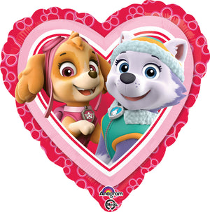 "34302-18"" Paw Patrol Love Girls Balloon"