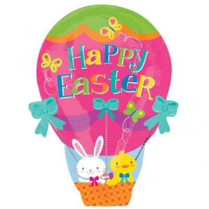 Happy Easter Hot Air Junior Shape