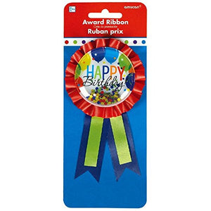 Amscan Award Ribbon Party Badge
