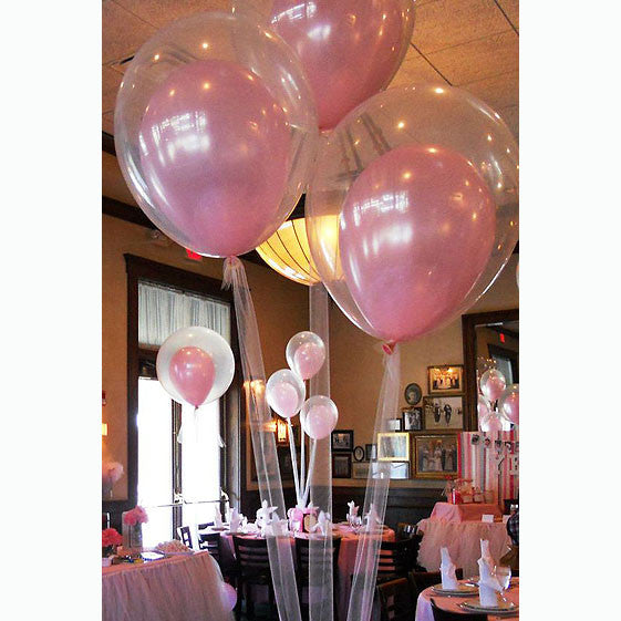 Balloon-in-Balloon Bouquets